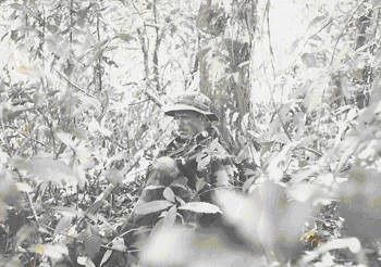 TURN ON IMAGES TO See Picture of US Navy Seal Dan Burke in Panama during combat operations in 1989