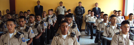 Indoor Picture of Prevention Wing of the Military in Ecuador
